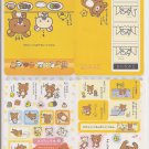 San-X Rilakkuma, Panda Happy, and Friends Jumbosealdass Sticker Booklet #3