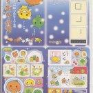 San-X Mikan Bouya, Amaguri Chan, and Friends Jumbosealdass Sticker Booklet #5