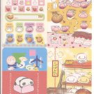 San-X Kogepan, Tare Panda, and Friends Jumbosealdass Sticker Booklet #8
