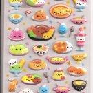 Kamio Smiling Foods Puffy Sticker Sheet