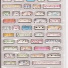 Kamio Sparkly Cute Internet/Cell Phone Emoticons Sticker Sheet
