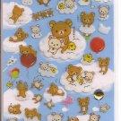 San-X Rilakkuma Balloons and Clouds Sticker Sheet