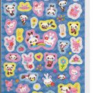 Crux Pandas and Bunnies Angels Sticker Sheet