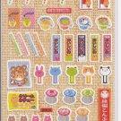 Kamio Candy Shop Animals Sticker Sheet