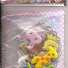 Lemon Co. Kawaii Animals 2 Sticker Sack