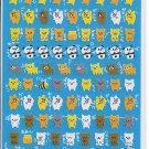 Crux Mini Bears and Pandas Sticker Sheet