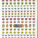 Mind Wave Kira Kira Animals Sparkly Mini Animals Sticker Sheet