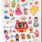 Mind Wave Dream Land Snow White, Three Little Pigs, etc. Sticker Sheet