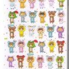 Q-Lia Candy Dolls Hard Epoxy Sticker Sheet