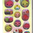 Lemon Co. Ume Plum Friends Sparkly Mini Sticker Sheet
