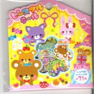 Mind Wave Bear Smile Party Sticker Sack