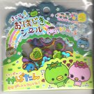 Pool Cool Kappa and Family Green 3D Sticker Sack