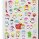 Kamio Colorful Crayons Sticker Sheet