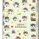 Q-Lia Army Kohamu Sticker Sheet