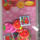 Crux Kawaii Fruits 3D Puffy Sticker Sack