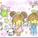 Kamio Happy Cute Angels Mini Memo Pad