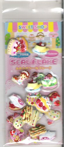 Crux Sweet Shop Desserts Shiny Puffy Sticker Sack