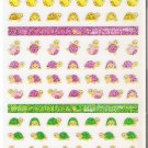 Mind Wave Fortune Multicolored Turtles Sparkly Sticker Sheet