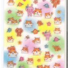Crux Hamu Chan's World and Flowers Sticker Sheet