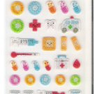 Korean Blue Sky Medicine Mini Sticker Sheet
