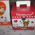 San-X Rilakkuma Hearts and Pancakes Jewelry Storage Box