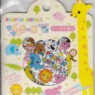Q-Lia Puni Puni Animals Colorful Sticker Sack