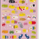 Mind Wave Bear Usacolle Colorful Sticker Sheet