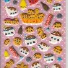 Crux Takoyaki Seal Puffy Glittery Sticker Sheet