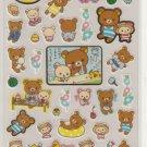 San-X Rilakkuma Bear Summer Fun Sticker Sheet