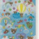 Crux Koguma Balloon Blue Sky Sticker Sheet