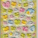 Crux Colorful Clover Friends Puffy Sticker Sheet