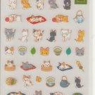 Kamio Playful Cats Sticker Sheet