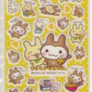 Media Factory Usaru san Banana Sparkly Sticker Sheet