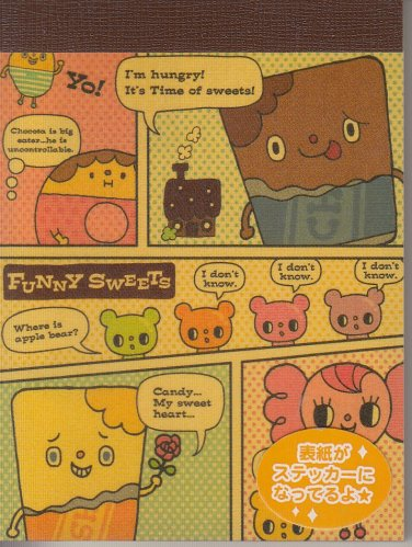 Mind Wave Chocolate Factory Funny Sweets Mini Memo Pad