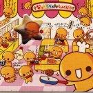 Crux Natto chan Restaurant Diecut Mini Memo Pad