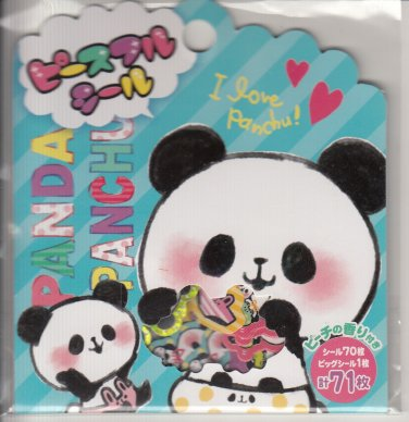 Mind Wave I Love Panchu Panda Sticker Sack