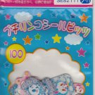 San-X Pastel Pandas, Bunnies and Stars Sticker Sack