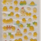 Mind Wave Chickens, Chicks, and Eggs Sparkly Sticker Sheet