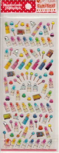 Q-Lia Candlelight and Matches Friends Sticker Sheet