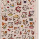 Funny Sticker World Little Cat Sticker Sheet