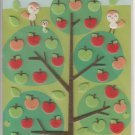 Funny Sticker World Apples Felt Sticker Sheet