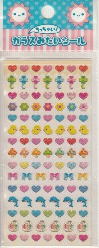 Lemon Co. Ducks, Hearts, and Mushrooms Mini Sticker Sheet