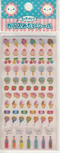 Lemon Co. Bunnies, Sweets, and Desserts  Mini Sticker Sheet
