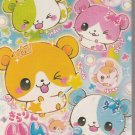 Crux Colorful Hamster Friends Clover Mini Memo Pad