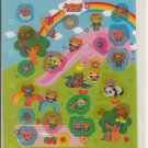 CSI Japan Animal Park Glittery Sticker Sheet