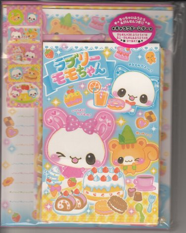 Crux Animal Sweets Bunny and Friends Letter Set