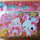 Crux Bunny and Squirrel Pink Cake Memo Tin with Mini Memo Sheets