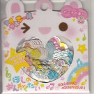 Q-Lia Musical Bunnies and Friends Sticker Sack