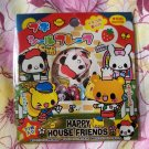 Kamio Happy House Friends Sticker Sack