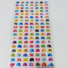Mind Wave Mini Colorful Elephants Sticker Sheet